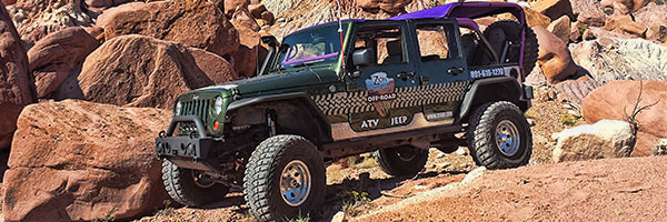 Zion Country Off-Road Tour Jeep madness