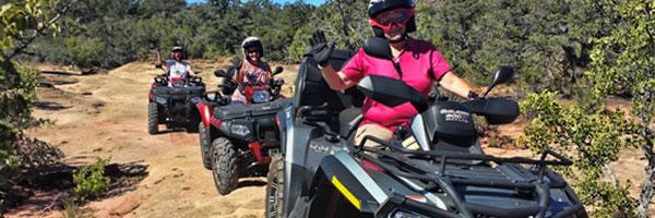 Zion Quad Tour - Petrified Forest ATV Tour