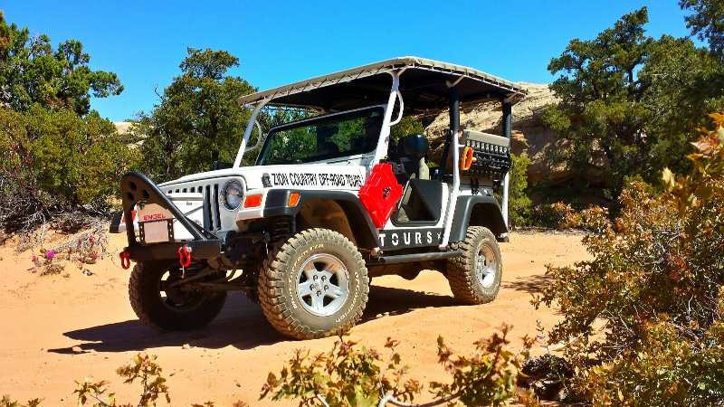 Zion National Park Jeep Tours | Zion Country Off-Road Tours