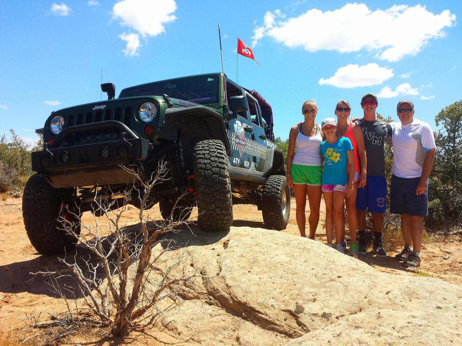 Zion Jeep Tour
