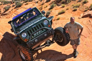Dave on his Extreme Jeep Tour - Tippy Sensations