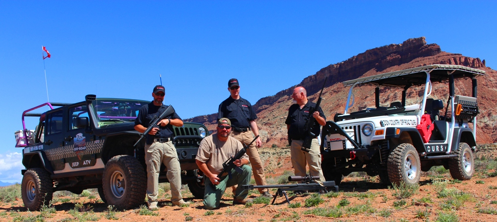 full auto jeep tour pistol rifle shooting rang