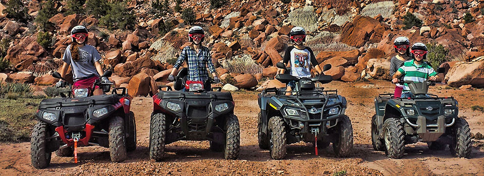 Petrified Forest ATV Tour - zion jeep tour